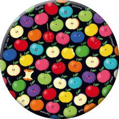 """Lali magnet grand format (88 mm) """"Quelle pomme croquer ?"""""""