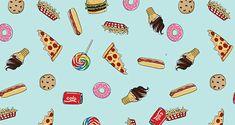 Junk Food Toss Pattern