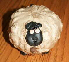 Medium Warty Sheep by gourdsrus on Etsy…