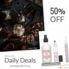 Today Only! 50% OFF this item.  Follow us on Pinterest to be the first to see our exciting Daily Deals. Today's Product: Cocoa Butter Perfume Oil, Vegan Perfume, Roll On Perfume, Cocoa Butter Spray, Chocolate Perfume, Buttery Perfume, Raw Chocolate,Cruelty Free Buy now: https://www.etsy.com/listing/487877164?utm_source=Pinterest&utm_medium=Orangetwig_Marketing&utm_campaign=April%20Daily%20Deal #etsy #etsyseller #etsyshop #etsylove #etsyfinds #etsygifts #handmade #perfumeoil #perfumeoils…