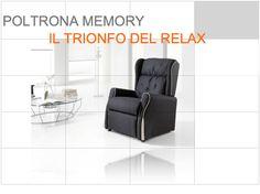 Memory - poltrona relax - Tino Mariani http://www.tinomariani.it/prodotti/memory.html