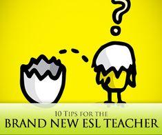 New Kid on the Block: 10 Tips for the Brand New ESL Teacher