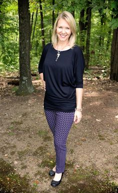 My Queensland Dolman Jersey Top and the Emer Printed Straight Leg Pant from #stitchfix. Keepers!