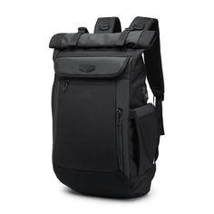 Stylish Backpacks, School Backpacks, Backpack Travel Bag, Fashion Backpack, Roll Top, Notebook Bag, Usb, Waterproof Backpack, Moda Masculina