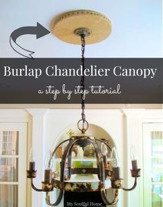 Burlap projects - 3 easy step by step tutorials