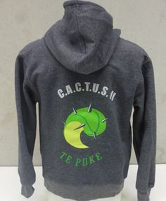 Example of some work we have done Screen printed hoodies for Te Puke colourworksnz.com