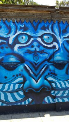 Street Art & Graffiti- Lima, Peru.  This from the Barranco District in Lima, Peru.  Barranco is the Bohemian region of Lima, Peru and is filled with amazing street art.  So many streets and hidden zones filled with beautiful art!  Outside the Beco do Batman region in Sao Paulo, Barranco has the most concentration of street art I have seen in South America. Original photography from R. Stowe.