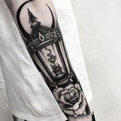 Funky Tattoos, Black Tattoos, Tattoos For Guys, Cool Tattoos, Tatoos, Wicca Tattoo, Witchcraft Tattoos, Mechanic Tattoo, Blackwork