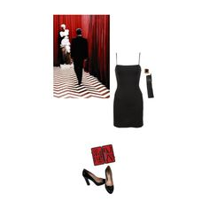 """""""it's happening again"""" by venusinvelvet ❤ liked on Polyvore featuring Miu Miu, Czech & Speake, Reformation, 90s, 80s and twinpeaks"""
