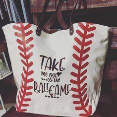 Customizable Canvas Baseball Tote by on Etsy Baseball Videos, Baseball Tips, Baseball Crafts, Baseball Field, Baseball Jewelry, Baseball Shirts, Travel Baseball, Baseball Wreaths, Sports Shirt
