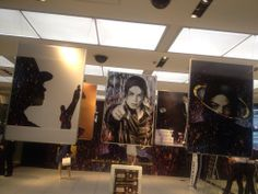 """Michael Jackson's new album """"Xscape"""" - promo in Japan, an exhibition from 24th May 2014 to 1st June 2014."""