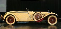1928 Saoutchik cars   Ilario 1928 Mercedes-Benz 680S Saoutchik Torpedo diecast car