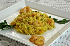 Risotto aux crevettes et au curry WW, un délicieux risotto onctueux et plein de saveurs au goût fondant facile à réaliser pour un pour un repas rassasiant et vraiment délicieux.