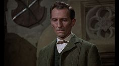 """Peter Cushing in """"The Hound of the Baskervilles"""" (Terence Fisher, 1959)"""