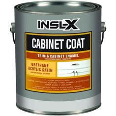 CabinetCoat 1-gal. White Trim and Cabinet Enamel-CC4510 at The Home Depot