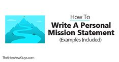 How to Write a Personal Mission Statement (Examples Included)