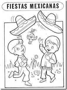 Resultado De Imagen De Dibujos Niños Mexicanos Para Colorear