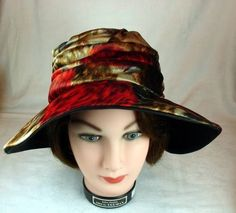 96cdf621af8 Henry Margu Creations Fantastic Vintage 60 s Colorful Floppy Hat 21