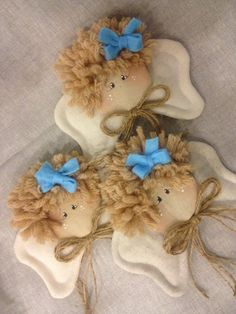 .Felted angels