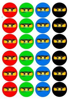 Lego Ninjago, Ninjago Cakes, Ninjago Party, Ninja Birthday, Lego Birthday Party, Festa Ninja Go, Bolo Lego, Lego Themed Party, Lego Craft