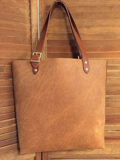 Leather bag Large Leather tote computer bag by YourChoiceLeather