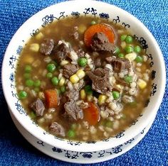 beef and barley soup - Recipes