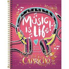 Caderno Universitário Tilibra Capricho - Americanas.com