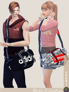 Sports bag at Studio K-Creation • Sims 4 Updates
