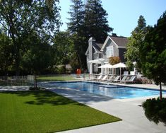 brushed concrete pool deck pool contemporary with pool stairs