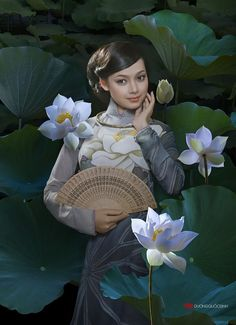 Xuan Van by duongquocdinh on DeviantArt Vietnamese Traditional Dress, Vietnamese Dress, Traditional Dresses, Art Beauté, Beautiful Vietnam, Vietnam Girl, Ao Dai Vietnam, Poses, Beautiful Asian Girls