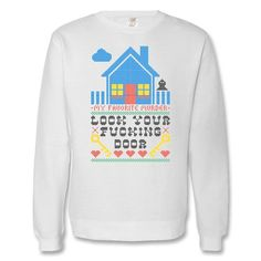 327c4775b73 Official My Favorite Murder Lock Your Door Sweatshirt