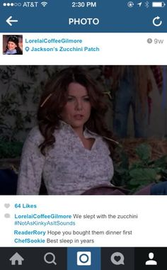 Cause you know Lorelai and Rory would share some great pics