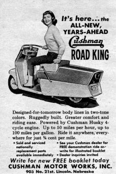 Cushman Road King ad