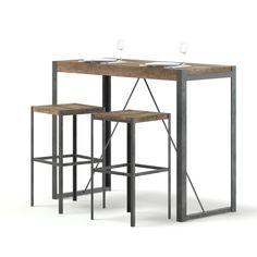 Affiliate/ad/reklame. Et smalt bord med to sitteplasser. Egnet for illustrasjoner av en cafe eller restaurant. #restaurant #sitteplass