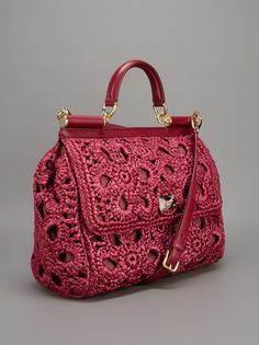 Dolce & Gabbana Crochet Doctor's Bag - Spinnaker 141 - farfetch.com