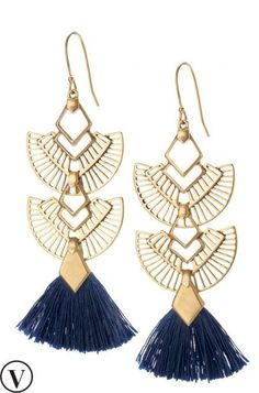 Shop these adorable blue tassel earrings and amp up your style today. Browse our latest tassel earrings collection at Stella & Dot.