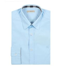 BURBERRY Logo Slim Fit Shirt. #burberry #cloth #
