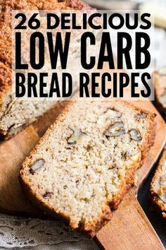 Lose weight without feeling deprived with this collection of easy, delicious, low-carb, gluten-free keto bread recipes! Whether you prefer to bake with almond flour or coconut flour, need dairy free and/or recipes with no eggs, like your bread in loaf form or prefer muffins, rolls, or biscuits, we have 26 sweet and savory recipes, including the BEST keto bread recipe on the internet! #keto #ketogenic #ketodiet #ketogenicdiet #lowcarb #glutenfree #ketobread #lowcarbbread #glutenfreebread