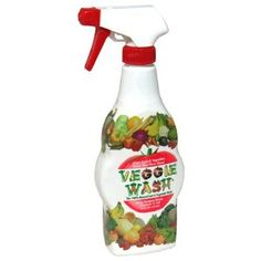 I use this pre-made Veggie Wash on fruits, vegetables and also for many other uses (carpet - gets stains out that nothing else will remove, cleans shower scum well, the cat box-we just clean by removing old clay chips/ baking soda combo. and clean empty box with this, counters, sticky tags off of hard items, sinks, toilets...).  We purchase it on-line by the gallon and I feel confident using it because of ingredients.  Honestly, I am AMAZED by it's cleaning properties.