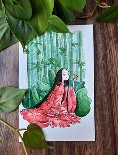 Watercolor Art, Watercolor Illustration, Cute Illustration, Studio Ghibli Characters, Studio Ghibli Art, Arte Sketchbook, Miyazaki, Cartoon Art, Cute Drawings