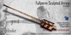 FLECHA Sculpted Arrow Fullperm