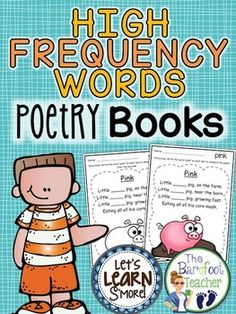 high frequency words poetry book free samples in preview downloadoriginal poetry by lets