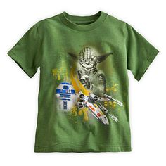 Yoda and R2-D2 Tee for Boys