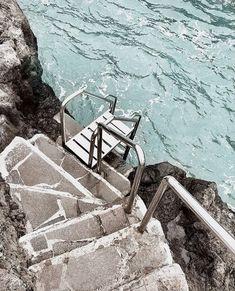 Stairway to paradise 🐬💦 summer aesthetic, beach aesthetic, beach day, summer vibes Beach Aesthetic, Summer Aesthetic, Travel Around The World, Around The Worlds, Places To Travel, Places To Visit, Destinations, Beach Day, Summer Vibes