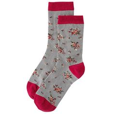 Posey Mixed Patterned Socks Cath Kidston Patterns, Floral Socks, Patterned Socks, Fashion Socks, Christmas Stockings, Scarves, Tights, Slippers, Clothes For Women