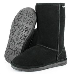 Bearpaw boots!! My absolute fave for winter. More comfy than UGGs and way cheaper!