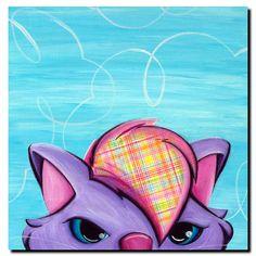 Kitty by Sylvia Masek Canvas Art