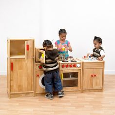 Solid Hardwood Kitchen - Expressive Arts & Design - Early Years | EYP Direct