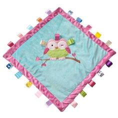 Taggies Oodles Owl Cozy Blanket, #Baby #Owl  Pinned for BabyBump, the #1 mobile pregnancy tracker with the built-in community for support and sharing.