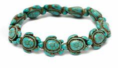 Turquoise turtle bracelet...